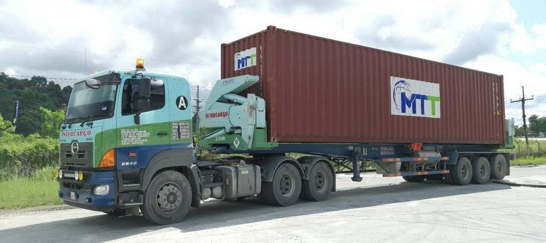 , Trusted brand, Steelbro helps give Intercargo a lift